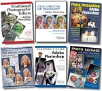 Clearance Books about PhotoShop