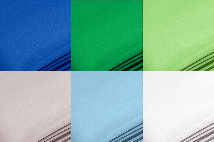 11' Seamless Chromakey Digital and Solid Backdrops