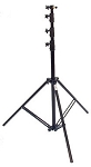 10' or 13' Black Heavy Duty Air Cushioned Light Stand